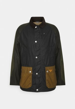 WAX PATCH BEDALE - Summer jacket - royal navy
