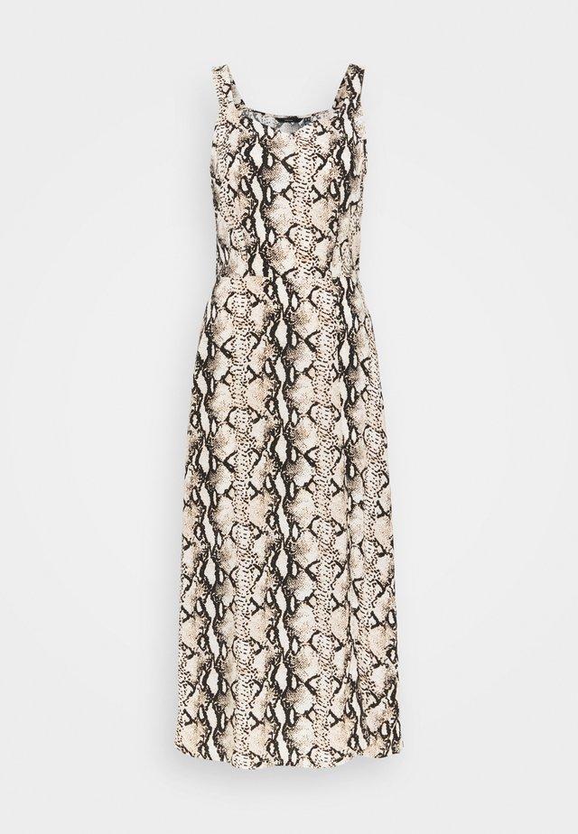 VMSIMPLY EASY STRAP CALF DRESS - Day dress - birch/mynthe