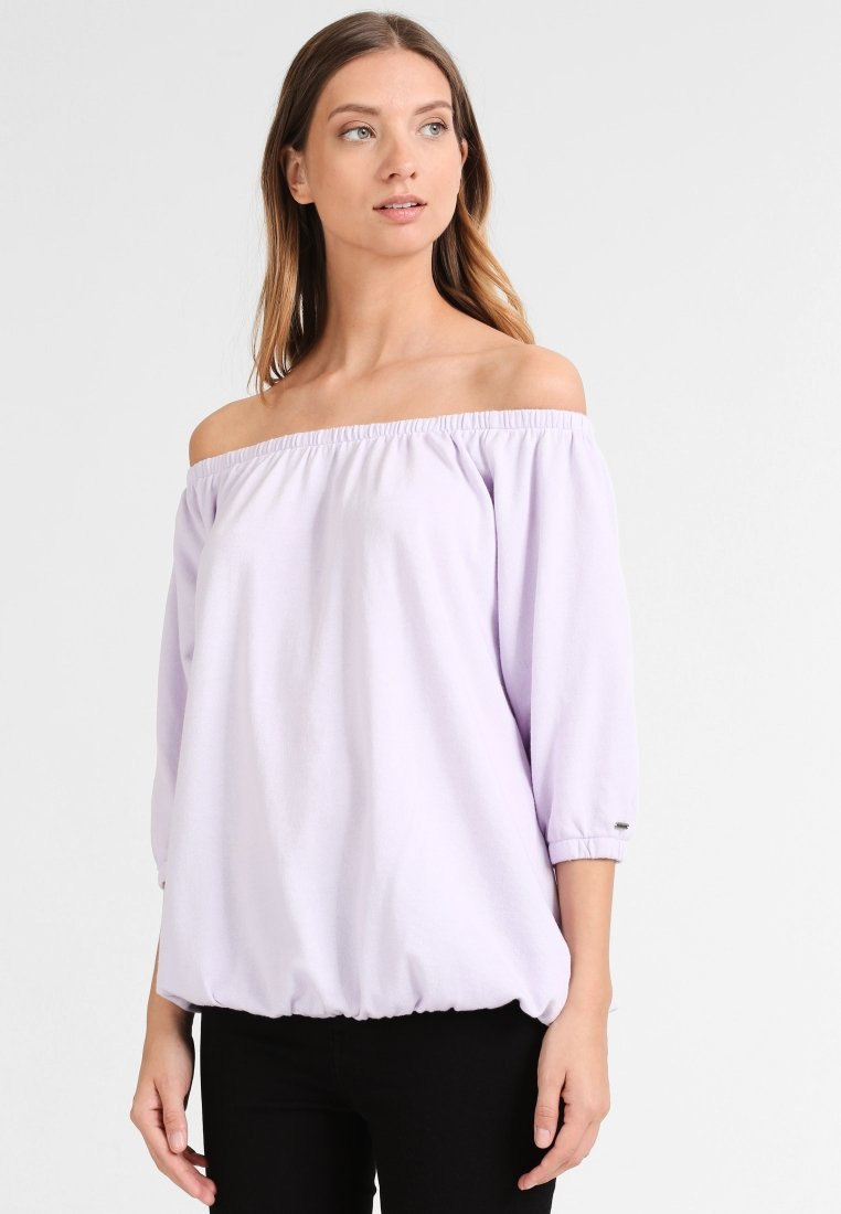 DreiMaster - Damen Shirt - Long sleeved top - hellflieder