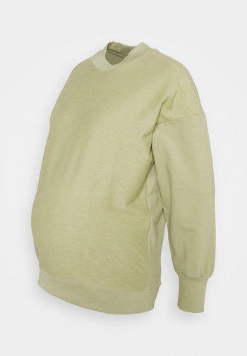 MLBELMA - Sweatshirt - sage green