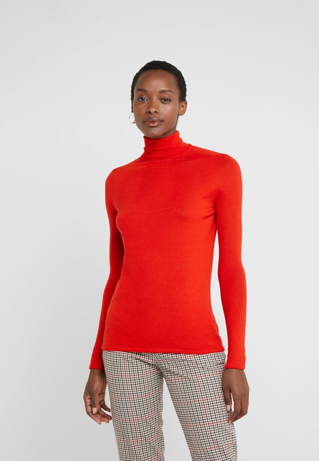 RIVER ROLL NECK - Pullover - mondiran red
