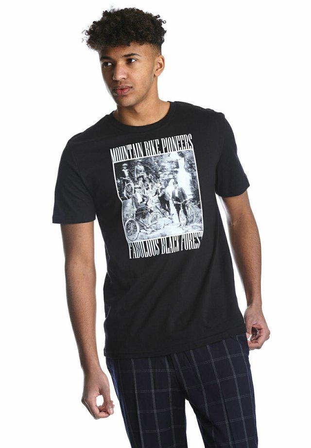 ARTWOOD MOUNTAIN BIKE PIONEER  - Print T-shirt - schwarz