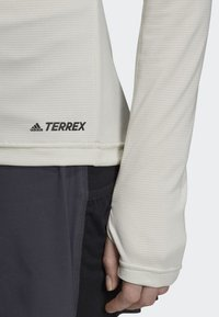 adidas Performance - TRACE ROCKER LONG-SLEEVE TOP - Sports shirt - white - 3