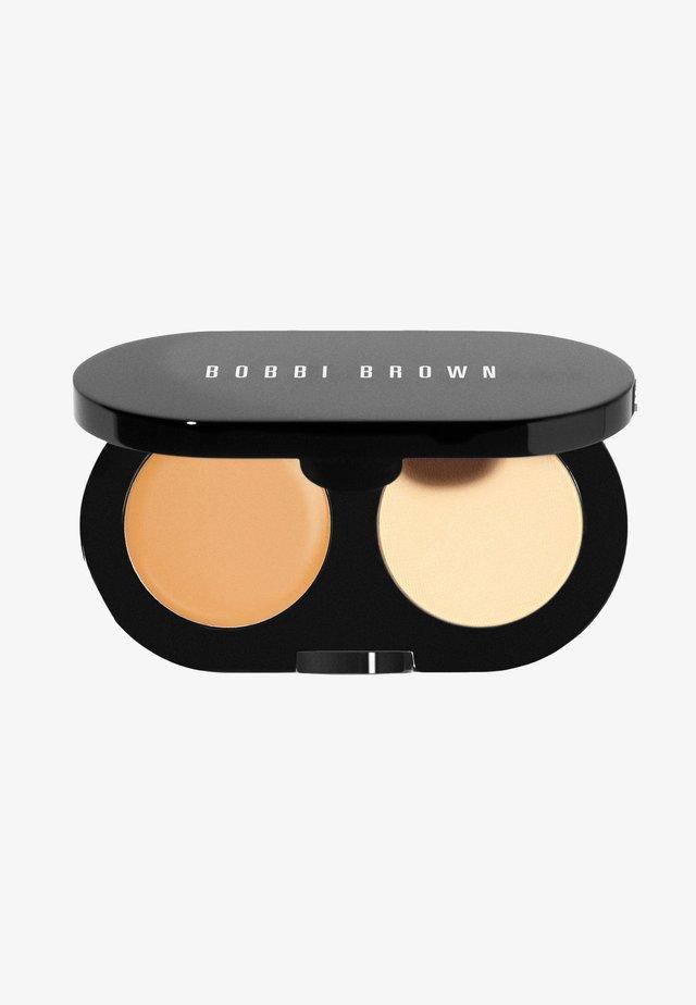 CREAMY CONCEALER KIT - Make-upset - natural tan