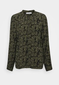 Moss Copenhagen - CALIE MOROCCO - Button-down blouse - sage - 0