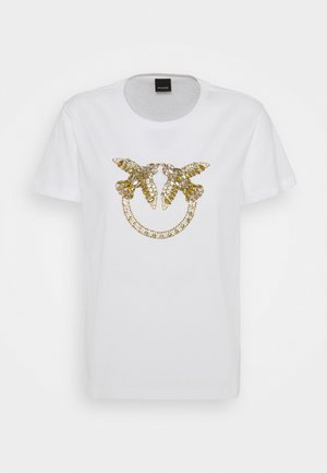 QUENTIN - T-shirts med print - white