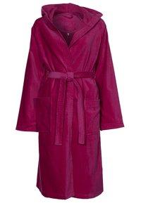Vossen - TEXAS - Dressing gown - cranberry - 0