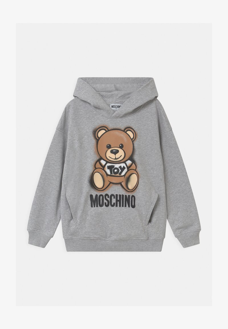MOSCHINO - HOODED UNISEX - Huppari - grey