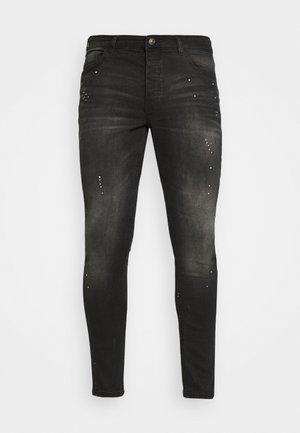 SPENCER - Jeans Skinny Fit - dark charcoal wash