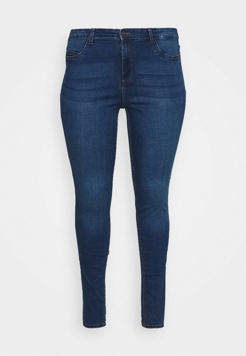 Noisy May Curve - NMCALLIE - Jeans Skinny Fit - medium blue denim