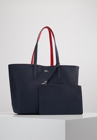 Lacoste - REVERSIBLE - Shopping bags - peacoat salsa - 0