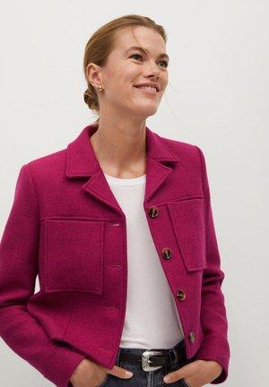 GRAMY-I - Summer jacket - růžovočervená