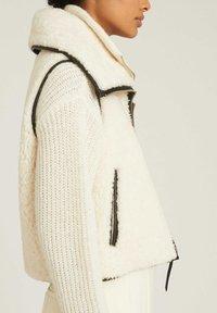 Reiss - Waistcoat - white - 3