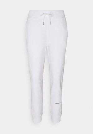 MICRO BRANDING PANT - Tracksuit bottoms - bright white