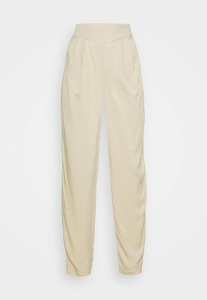 DAPHNE - Trousers - sand