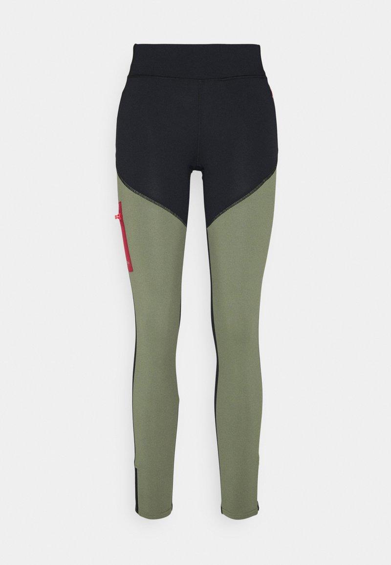 Roxy - FIELDS OF GOLD - Leggings - deep lichen green