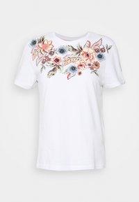 ONLY - ONLCORNELIA LIFE BOX - Print T-shirt - white - 4