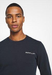 Replay - CREW NECK - Sweatshirt - blue - 4