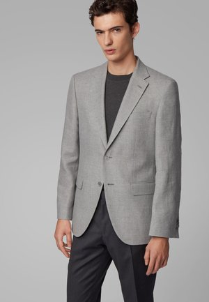 JESTOR4 - Blazer jacket - open grey