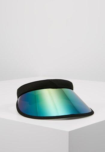 HOLOGRAPHIC VISOR - Cap - black/multicolor
