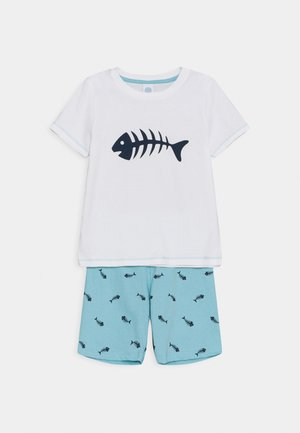 MINI SHORT UNISEX - Pyjamas - white pebble
