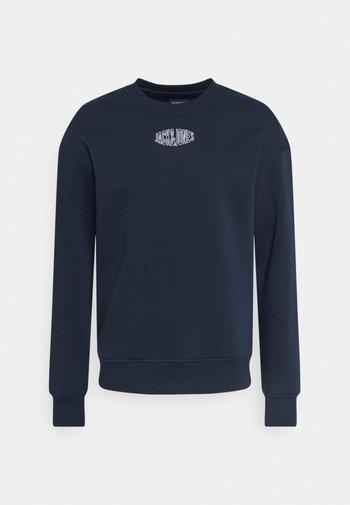 JORWORLD CREW NECK - Felpa - navy blazer