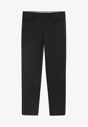 ALBERTO - Trousers - black