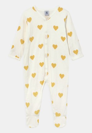 DORS BIEN UNISEX - Sleep suit - marshmallow/ocre