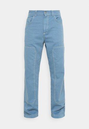 PANNEL DRILL TROUSERS - Straight leg jeans - indigo
