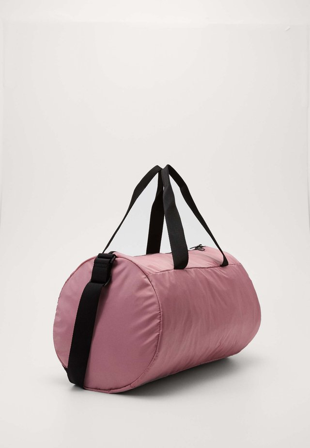 BARREL BAG - Borsa per lo sport - foxglove/black