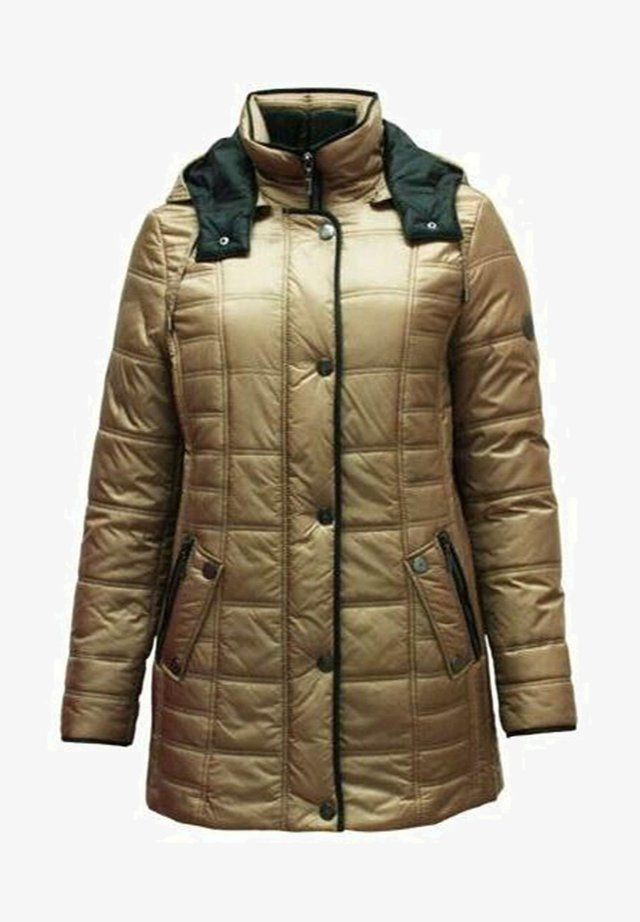 Winter jacket - caramel