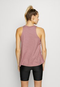 Under Armour - CHARGED TANK - Sportshirt - hushed pink/white - 2