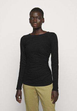 BOAT NEBULOUS - Maglietta a manica lunga - black