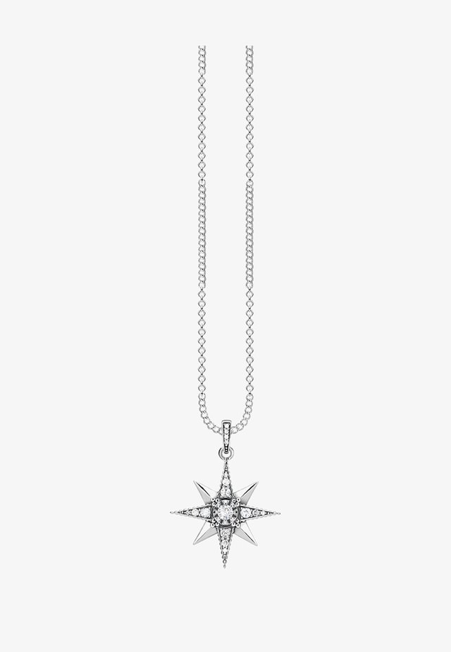 ROYALTY STERN  - Necklace - silver-coloured