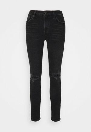 SOPHIE ANKLE - Skinny džíny - black