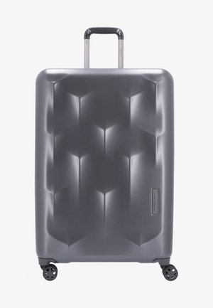EDGE CARVE - Wheeled suitcase - charcoal