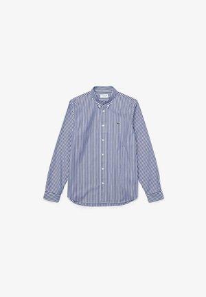 Shirt - weiß / blau