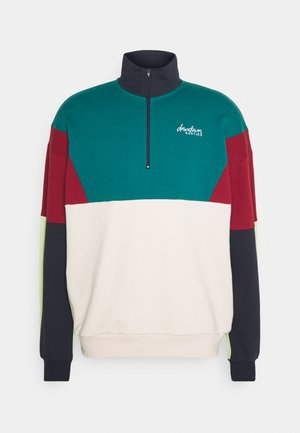 CREW ZIP UNISEX - Sweatshirt - green