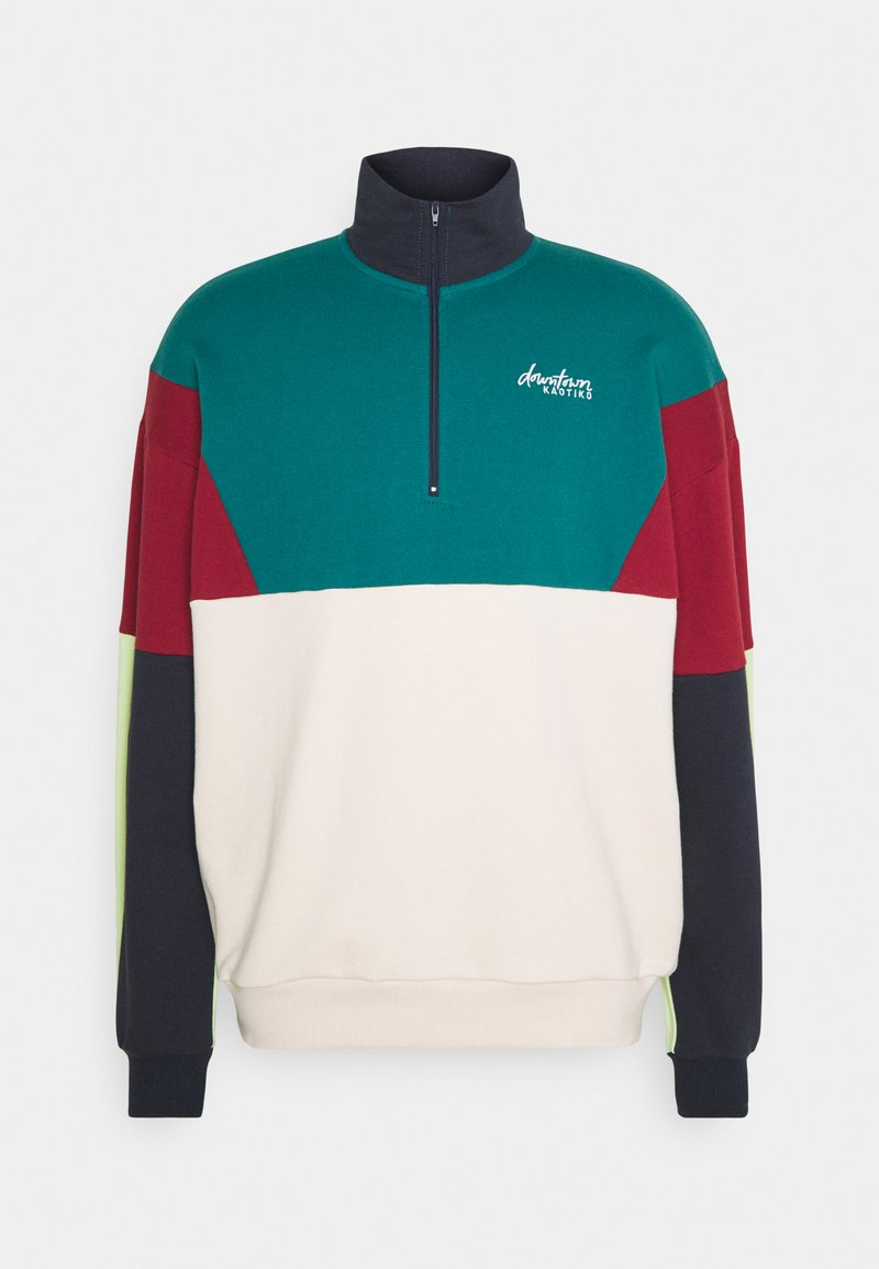 Kaotiko - CREW ZIP UNISEX - Sweatshirt - green