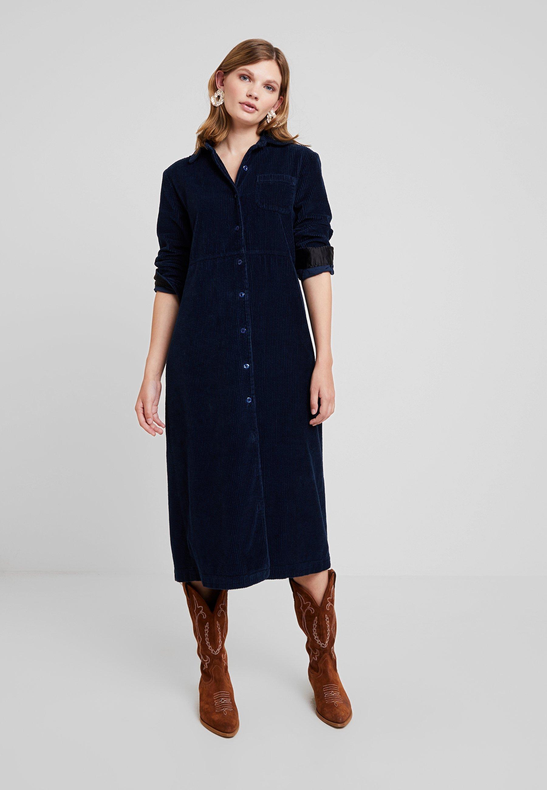 prima superficie realeza  LOIS Jeans SUNE - Vestido largo - marino/azul marino - Zalando.es