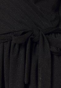 ONLY - ONLFURIOUS GLITTER WRAP - Blouse - black/black - 2