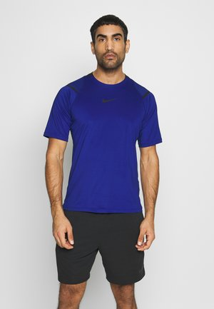 Print T-shirt - deep royal blue