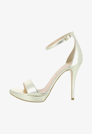 VALERIA - High heeled sandals - gold
