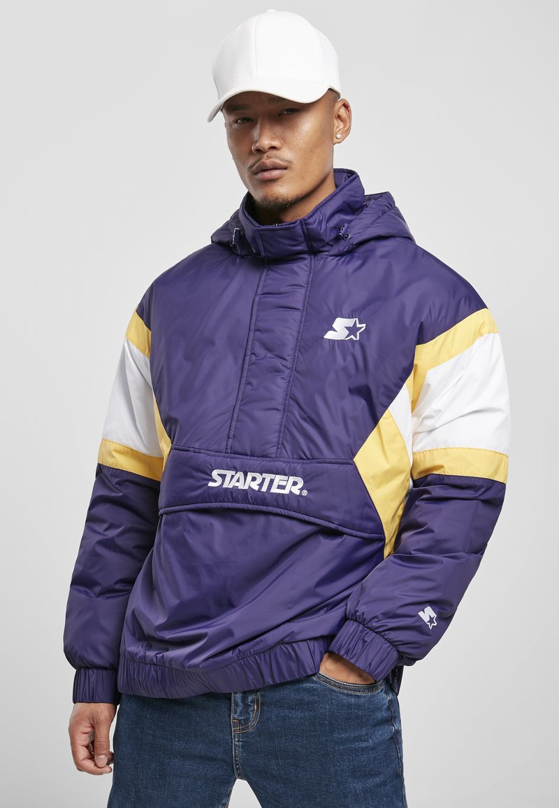 Starter - Winter jacket - starter purple/wht/buff yellow