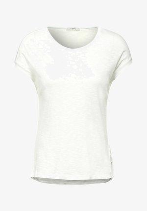 IN UNIFARBE - Basic T-shirt - weiß