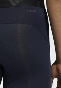 adidas Performance - TECHFIT LONG TIGHTS - Leggings - blue - 2
