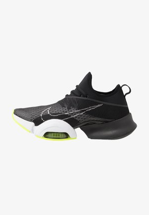 AIR ZOOM SUPERREP UNISEX - Gym- & träningskor - black/white/volt
