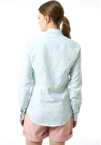 Jimmy Sanders - MIT STREIFENMUSTER - Button-down blouse - mint - 1