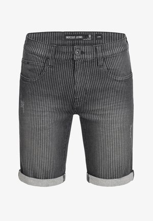 CUBA CADEN - Denim shorts - grey