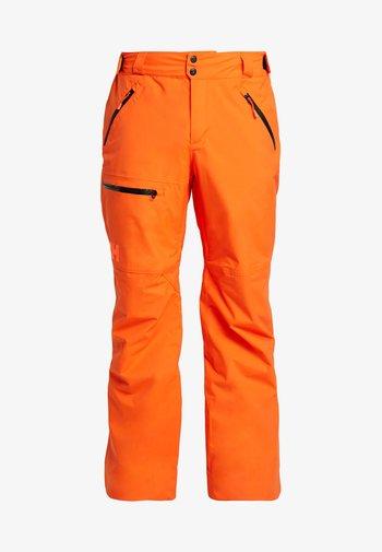 SOGN PANT - Snow pants - bright orange